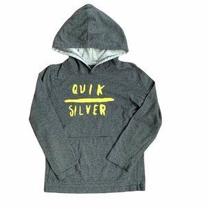 Quicksilver 5T Long Sleeve Hooded Shirt